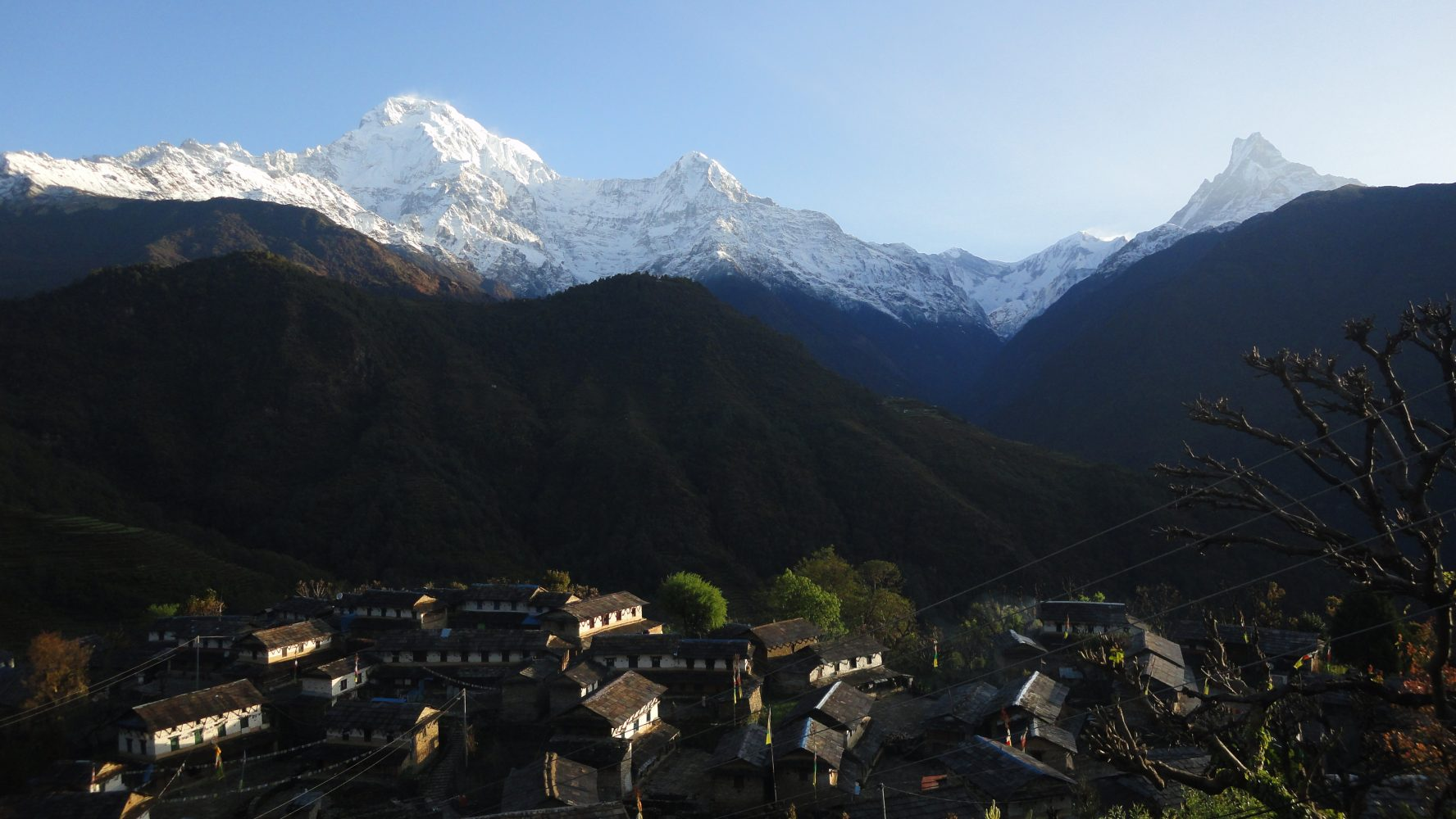 GHOREPANI POON HILL, GHANDRUK AND MULDAI TREK