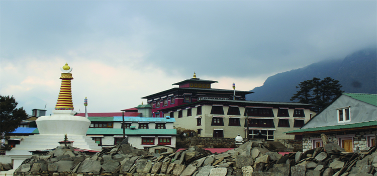 Tengboche Monastery,one of the major attraction of Everest Base Camp Trek