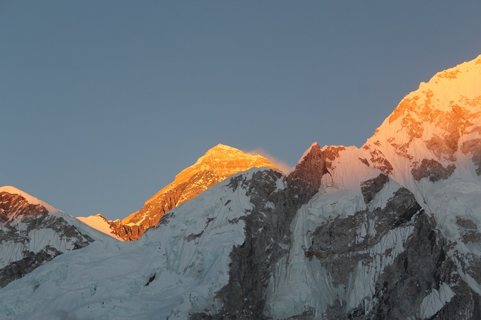Sunset During Everest Base Camp Trek